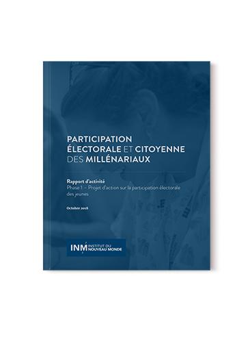 Participation électorale et citoyenne des millénariaux