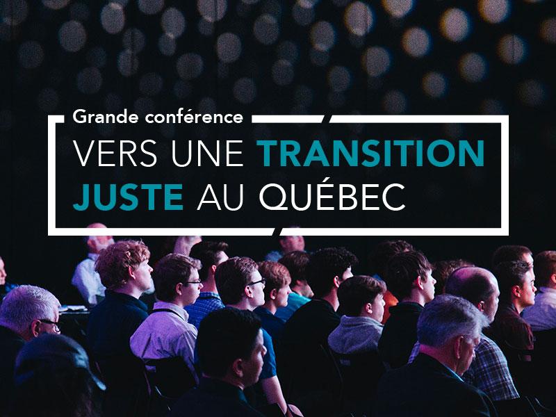Vers une transition juste au Québec